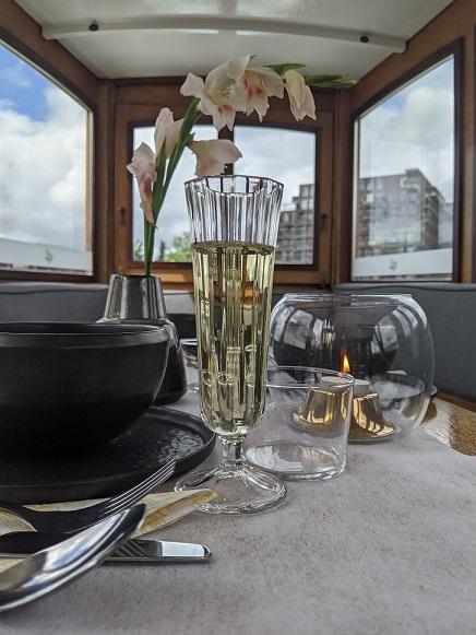 private dinner cruise amsterdam