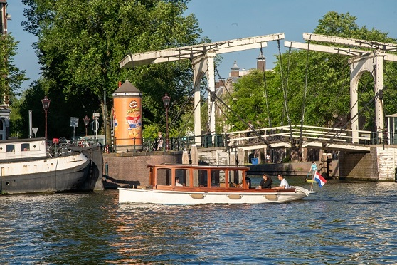 private canal boat amsterdam